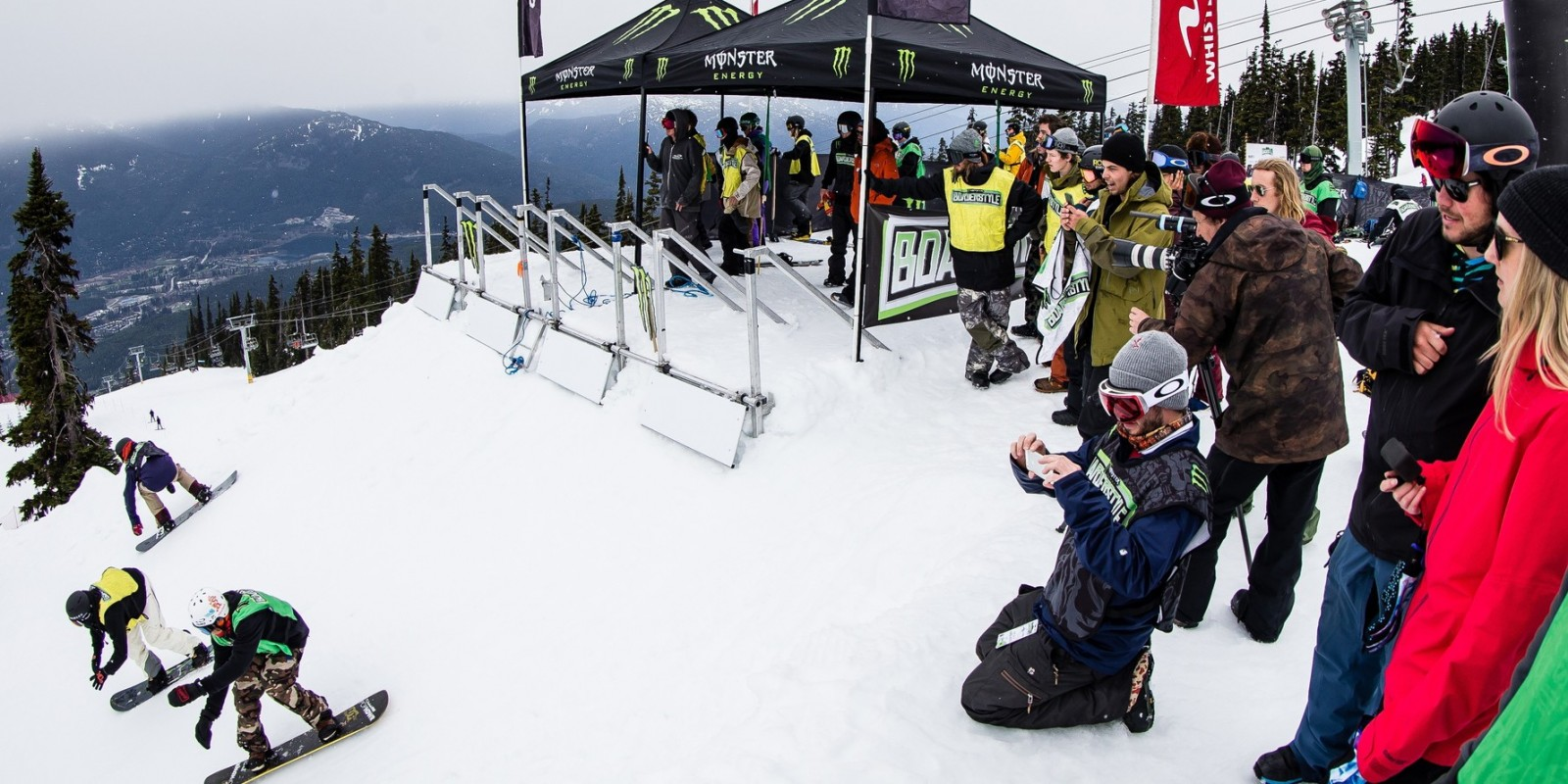 Monster Energy at the 2016 Boarderstyle World Championship in Whistler, BC