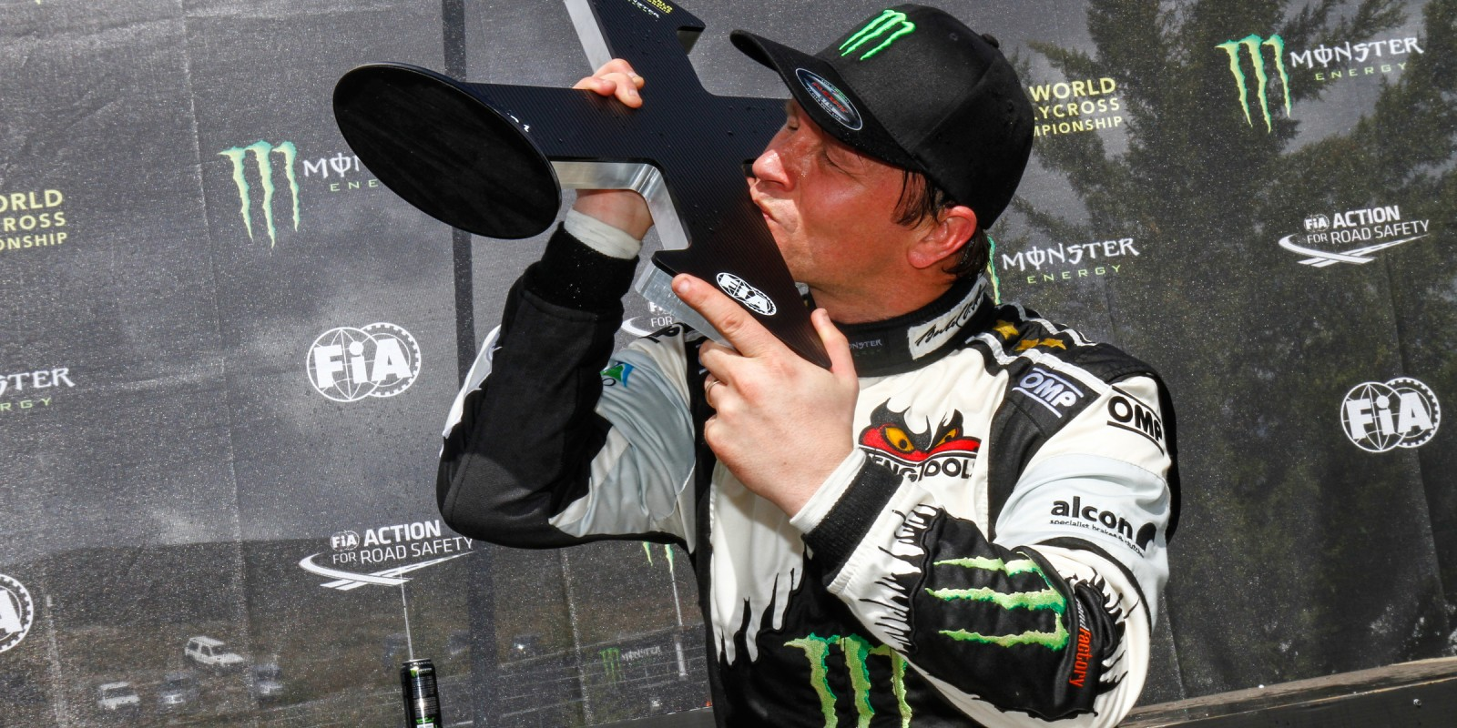 Day two images of Petter Solberg from round one of the FIA World Rallycross Championship, Round One - Race day