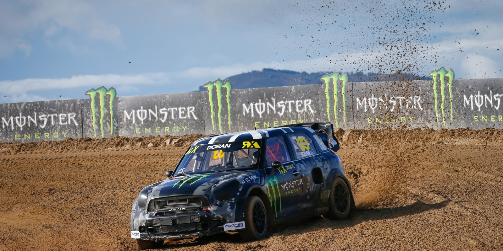 Day two images of Liam Doran from round one of the FIA World Rallycross Championship, Round One - Race day