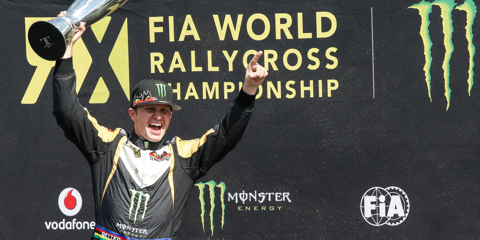 Petter Solberg at the 2015 World Rallycross in Argentina