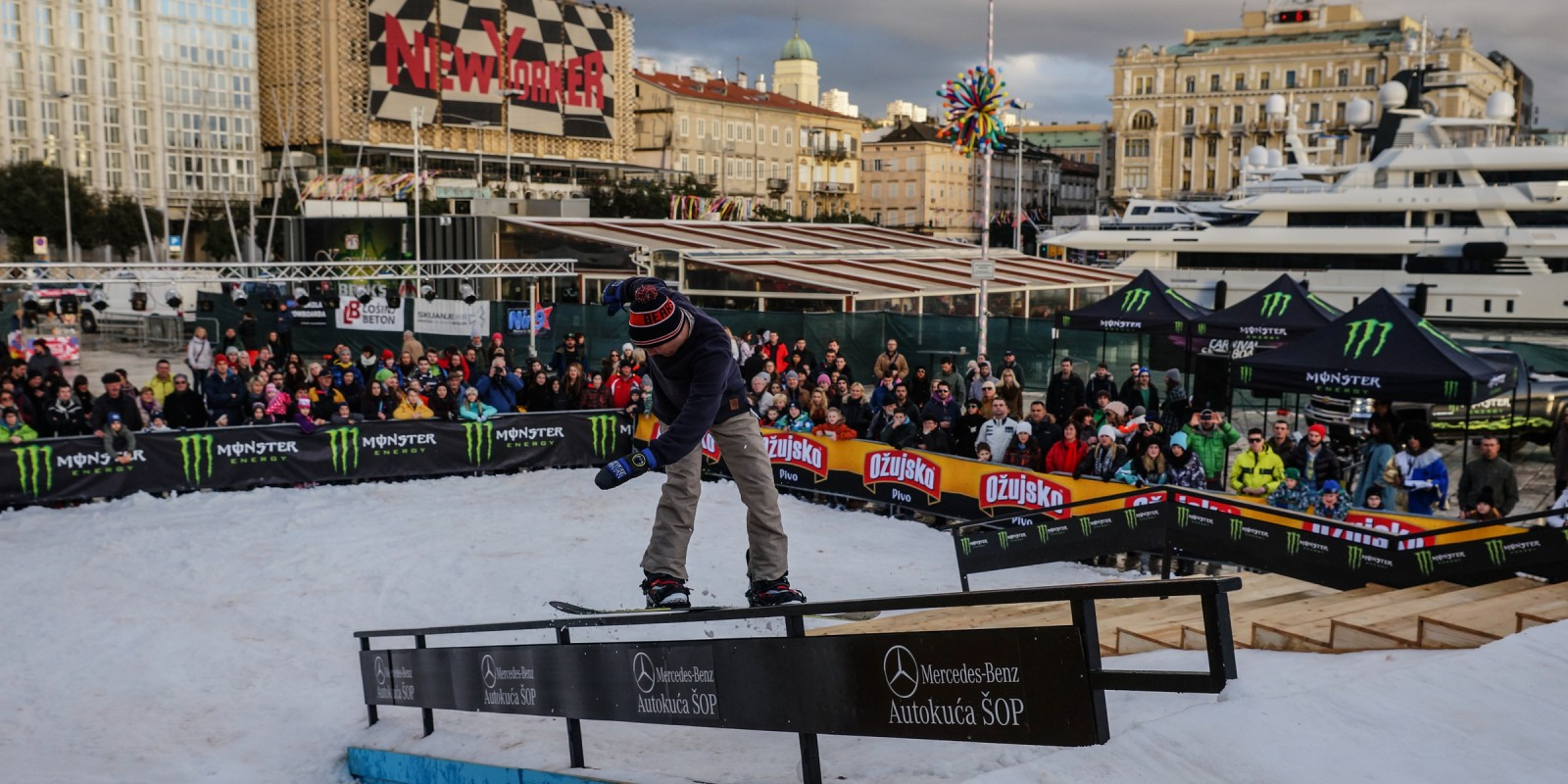 Carnival Snowboard Session in Rijeka