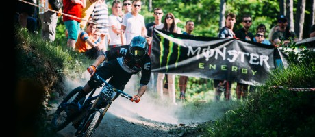 Monster Energy at the 2015 CRO DH Cup in Buzet
