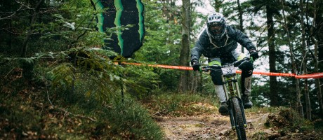 Monster Energy at the 2015 SLO DH Cup in Trbovlje