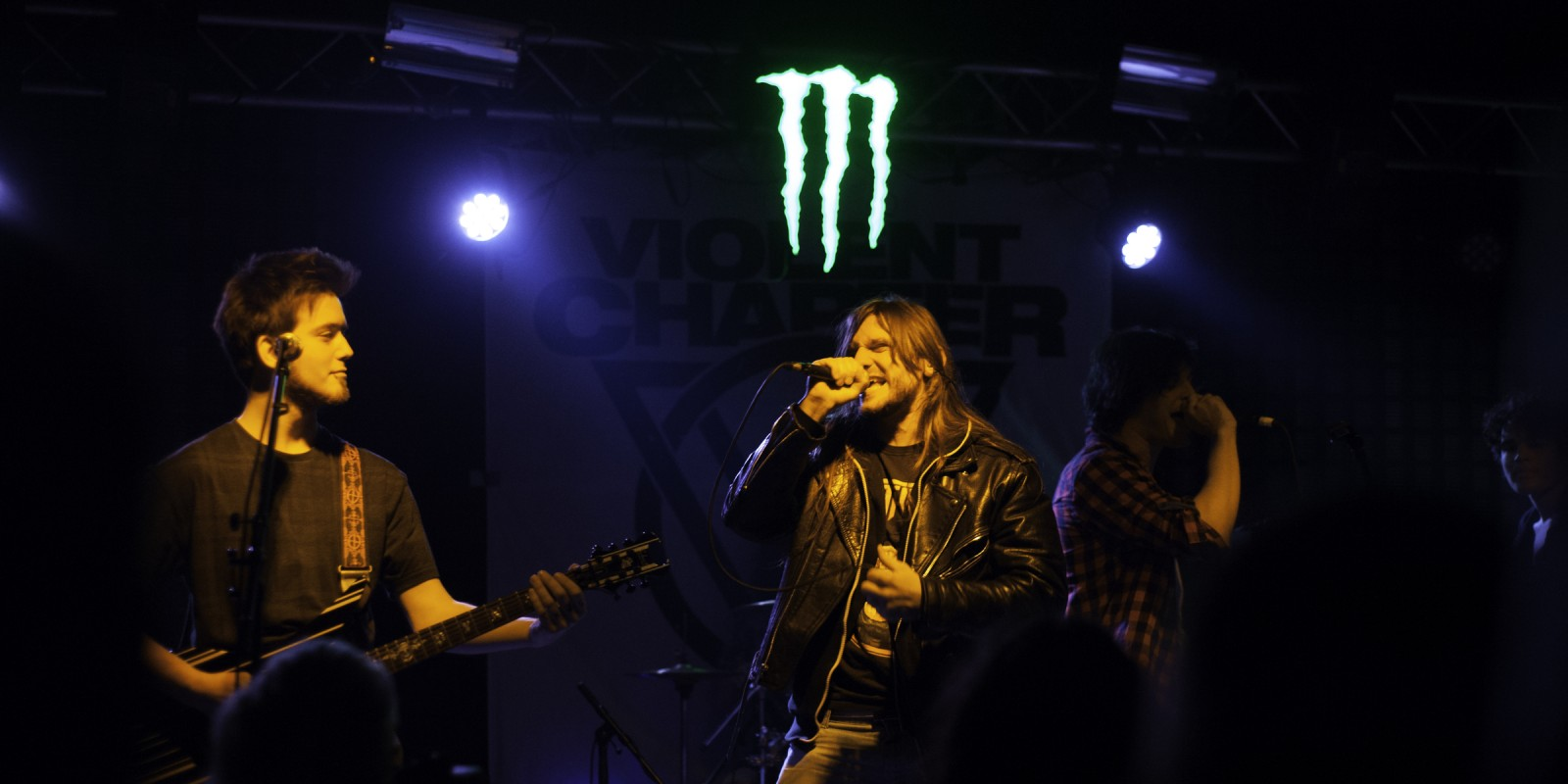 Monster Energy at the BlankFile and Violent Chapter concert.