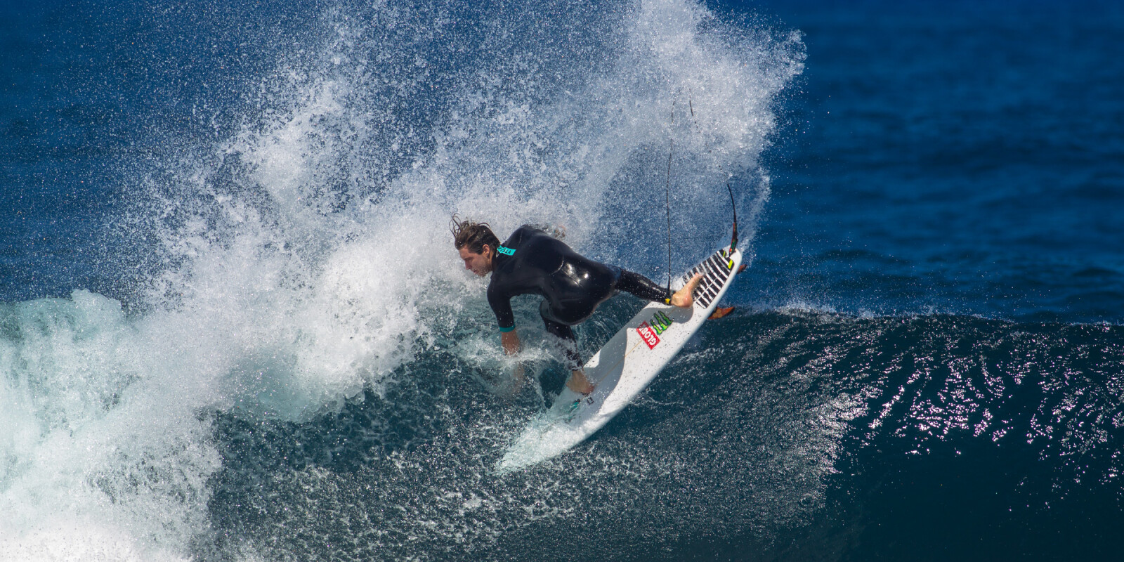 Dillon Perillo surfing for The Dill & Beeg Project