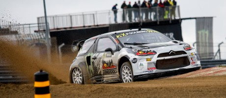 Petter Solberg during day two of the WorldRX of Portugal