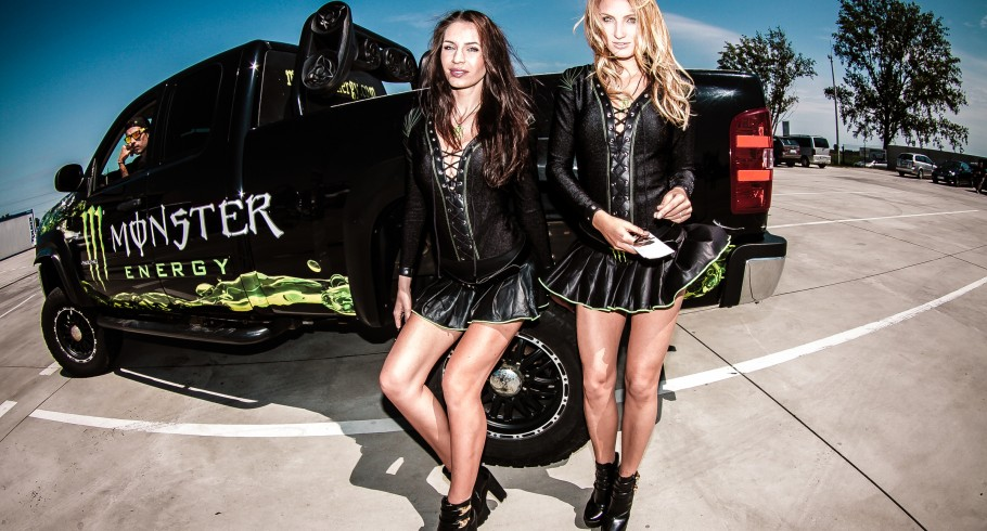 Monster Girls at the 2015 Powerfest in Slovakia