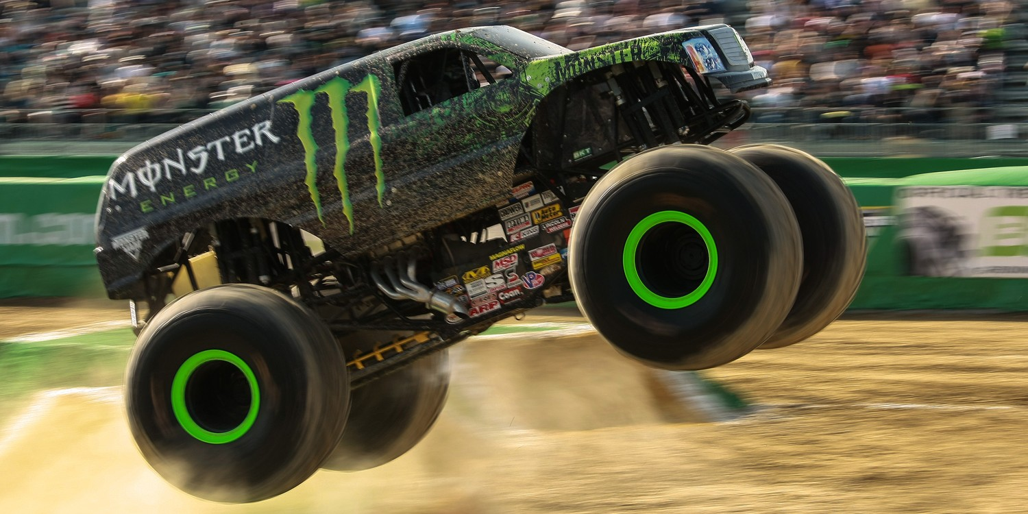 MONSTER JAM in Osaka, Japan.
