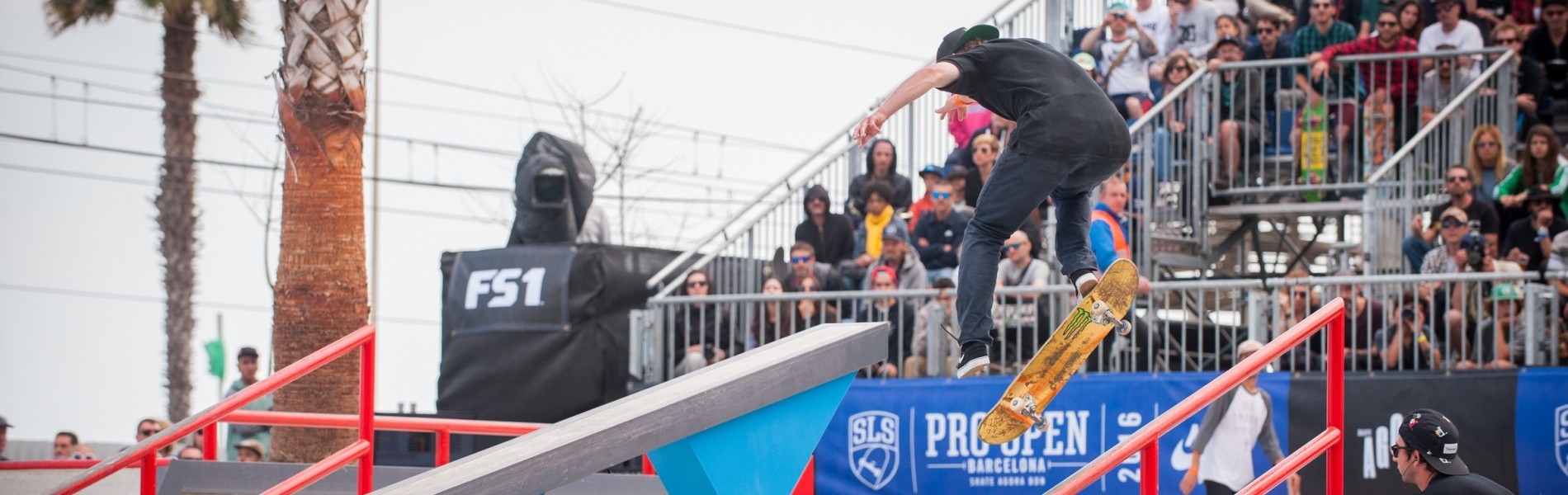 Monster athletes compete in the 2016 Pro Open in Barcelona Spain, Finals