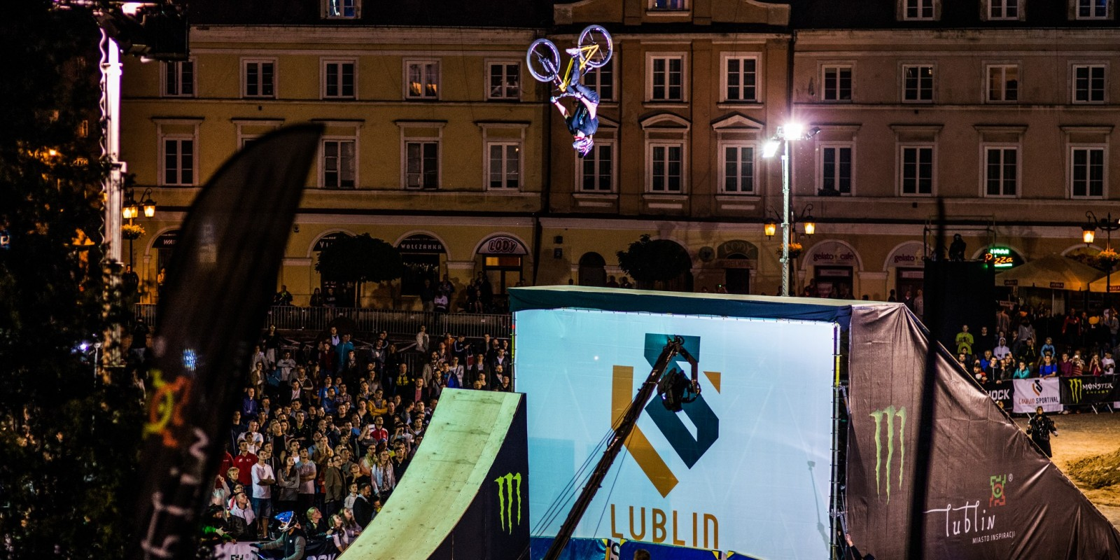 Monster Energy at the 2015 FMB Lublin Sportival in Lublin, Poland