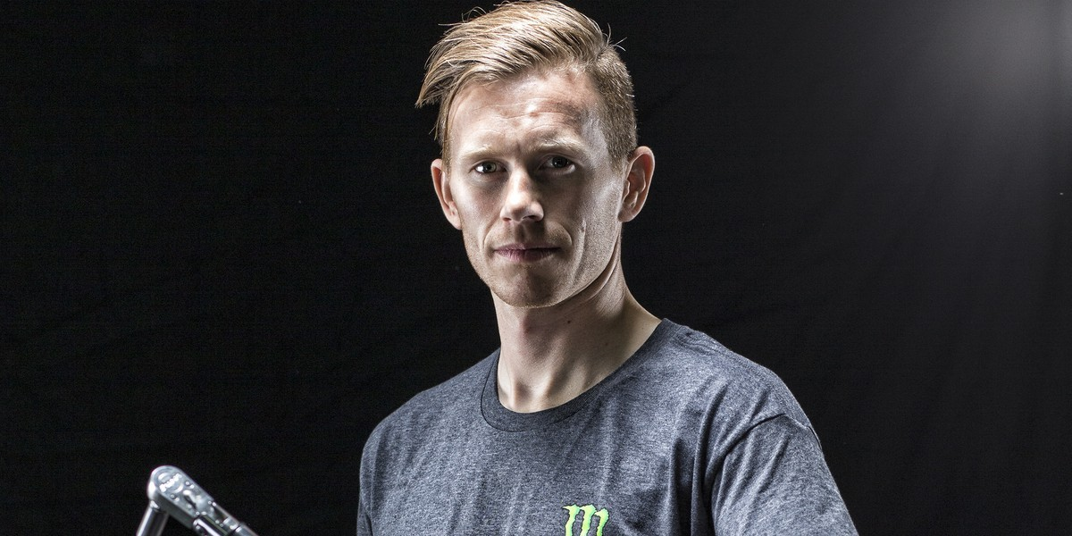 Olly Stone from Monster Energy Pro Circuit Kawasaki