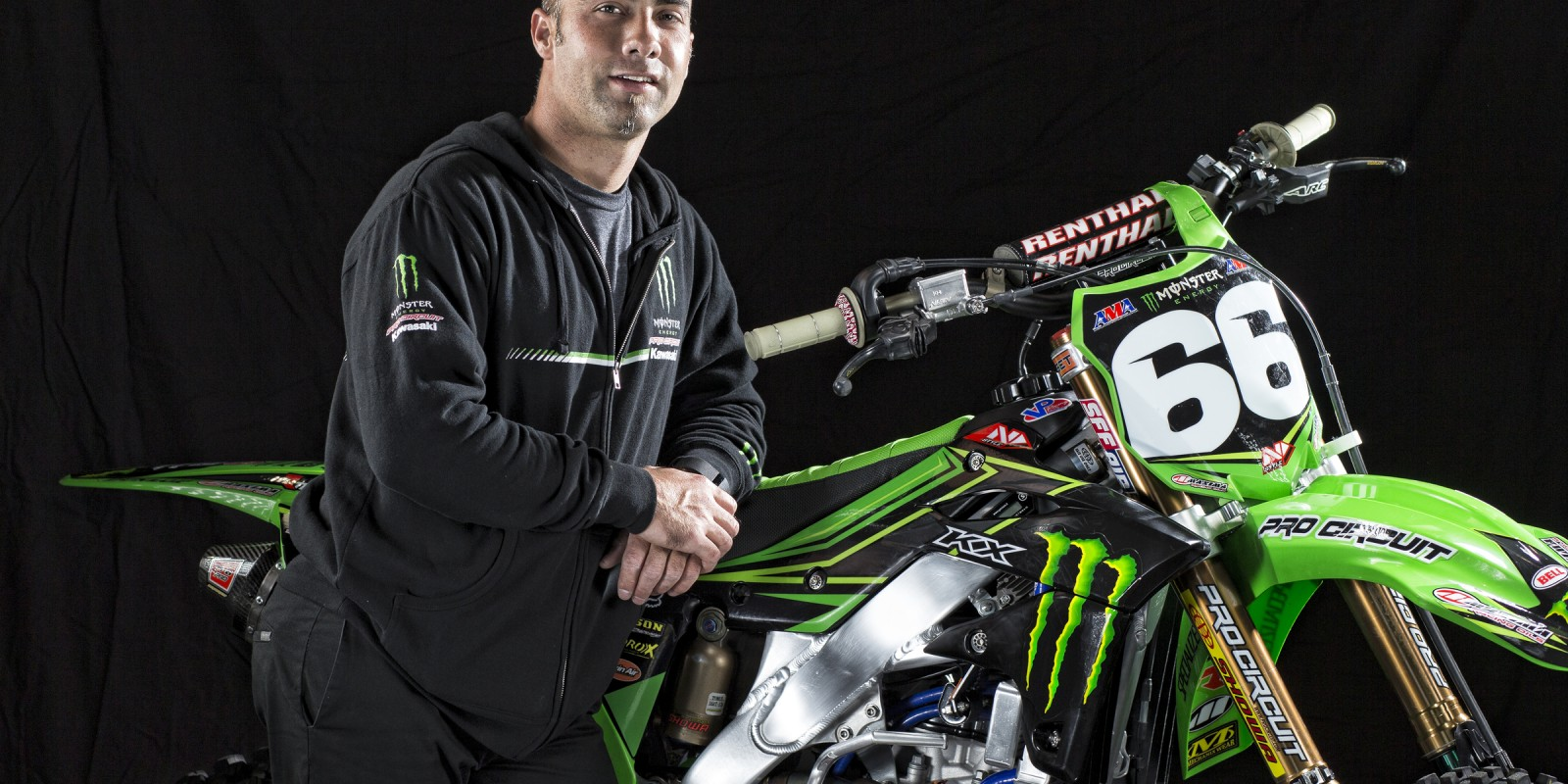 Jon Primo from Monster Energy Pro Circuit Kawasaki