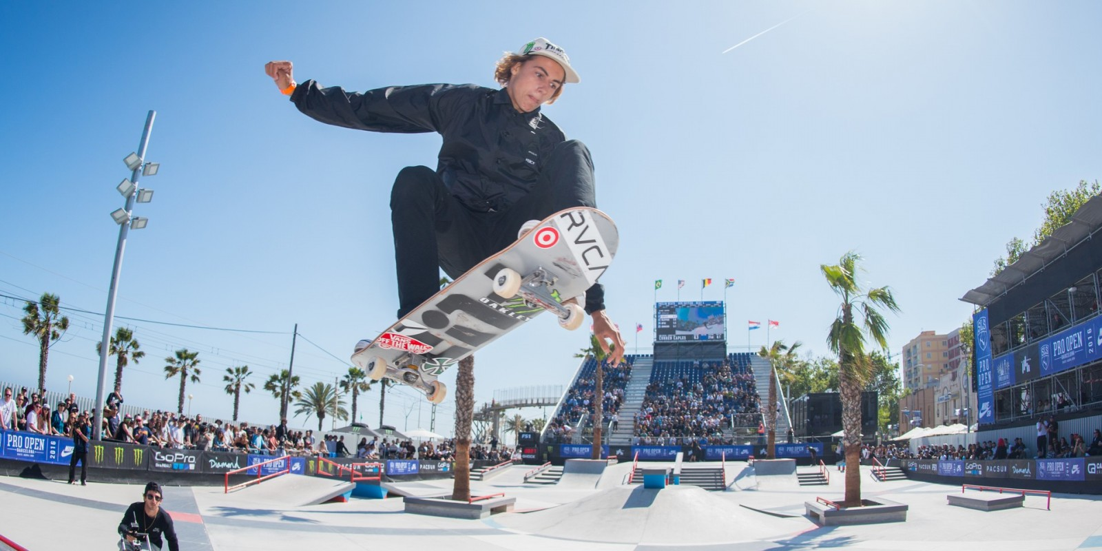 Monster athletes compete at the 2016 SLS Barcelona Pro Open