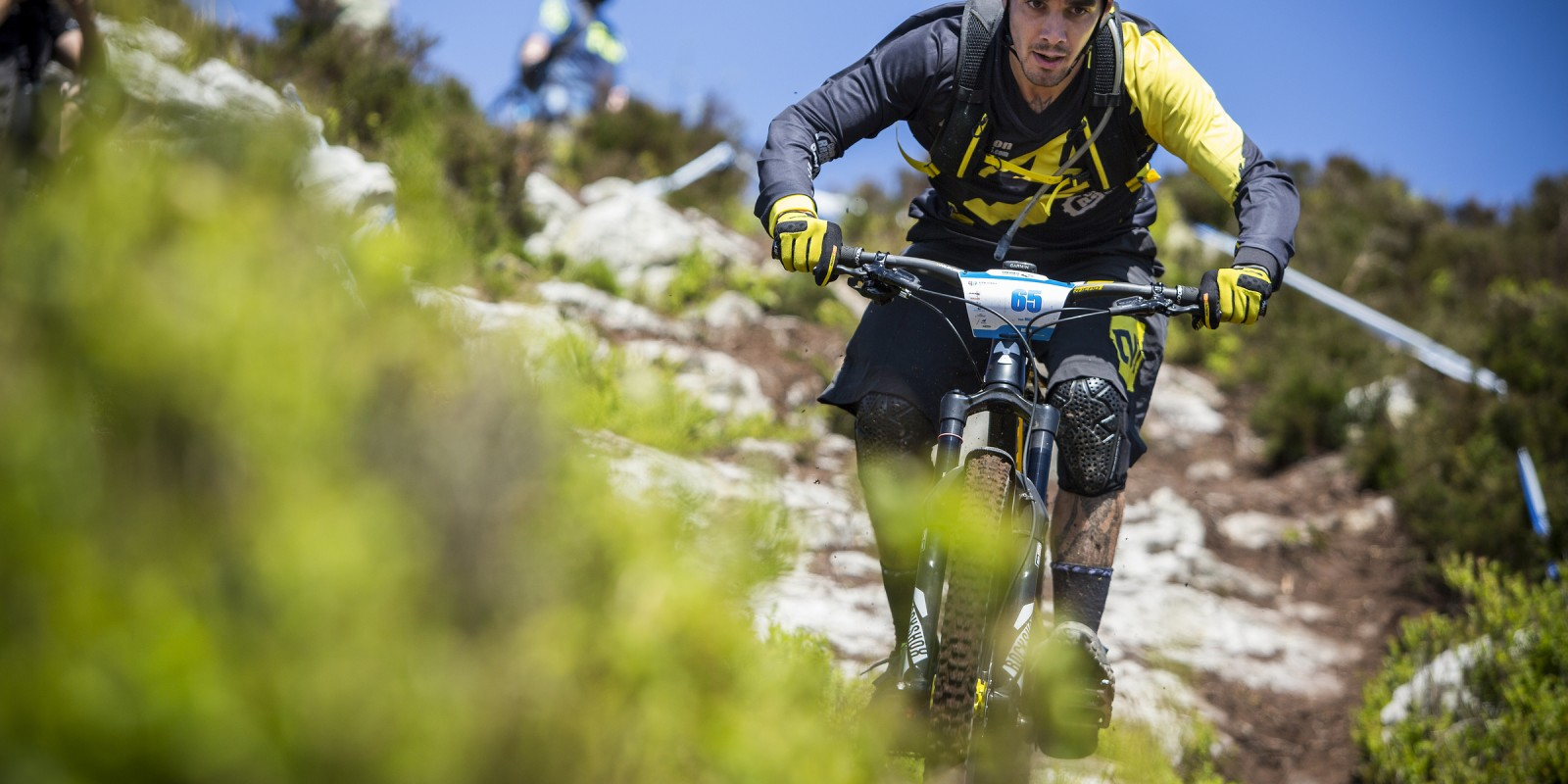 Sam Hil wins 2nd place at the Enduro World Series Round 3 in Wicklow, Ireland