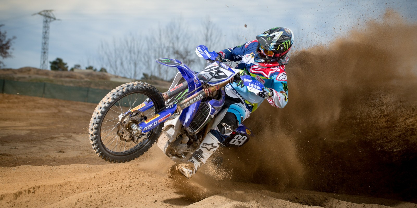 Jeremy Van Horebeek MXGP Launch in Barcelona, Spain