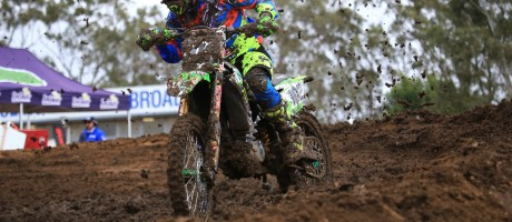 Matt Moss at the 2016 MX Nationals Round 3 in Broadford