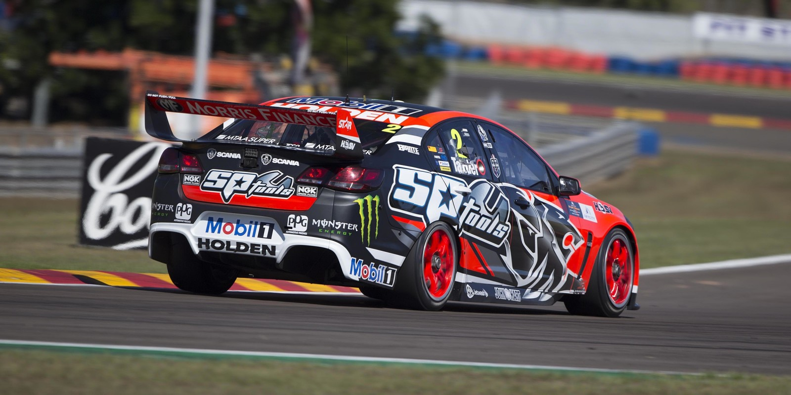 James Courtney at Round 5 of the V8 Supercar race in Darwin