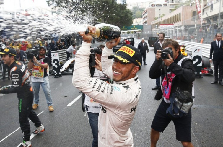Sunday images from the 2016 Monaco Grand Prix