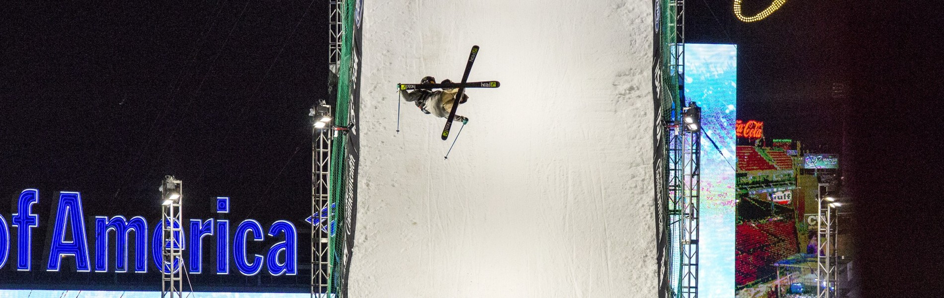 Evan McEachran during the US Grand Prix of Big Air