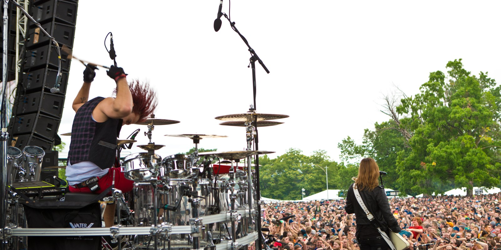 Halestorm at the 2015 Kansas City Rock Festival
