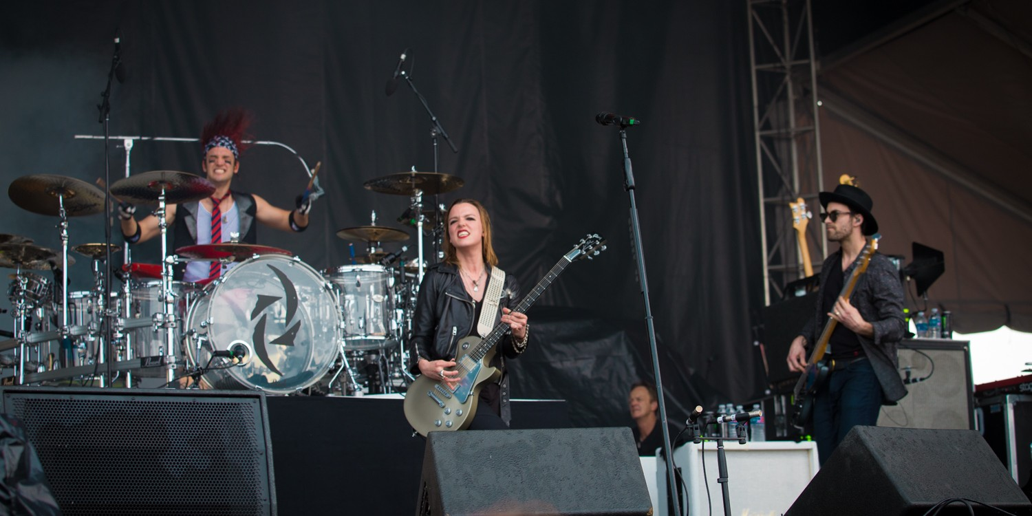 Halestorm at 2015 Welcome to Rockville in Jacksonville, Florida