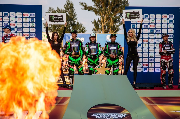 Images from round 3 of the 2016 speedway best pairs championship Round 3