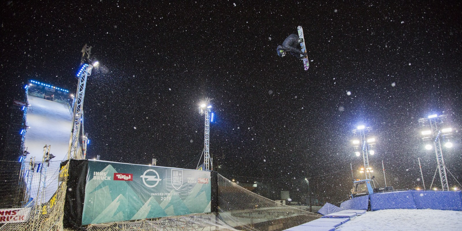 Sven Thorgren at the 2016 Air & Style in Innsbruck, Austria