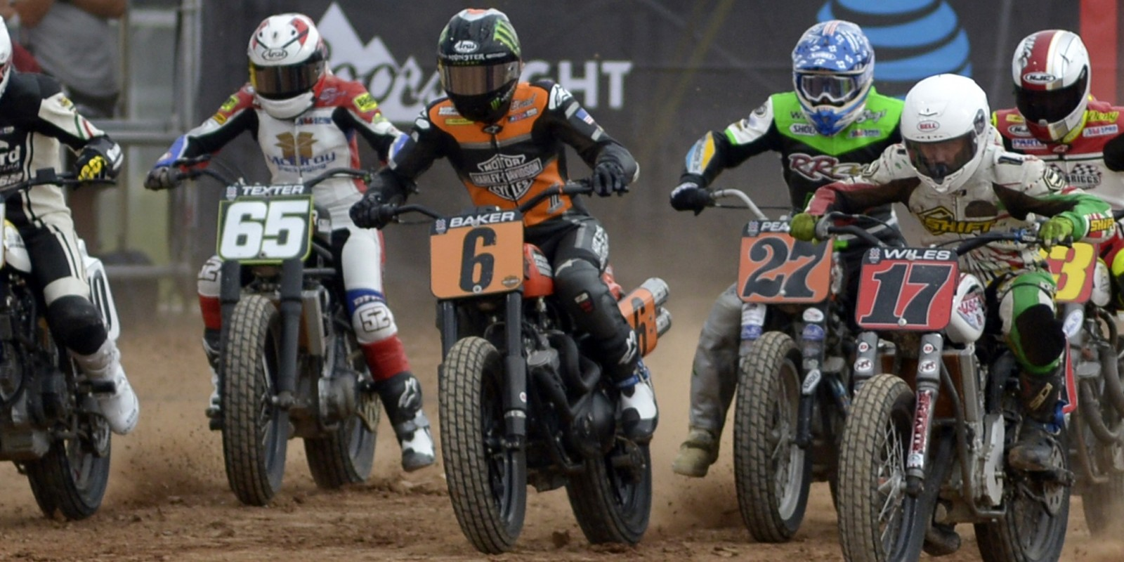 Flat Track shots of Monster athletes at the 2016 X-Games in Austin, Texas.