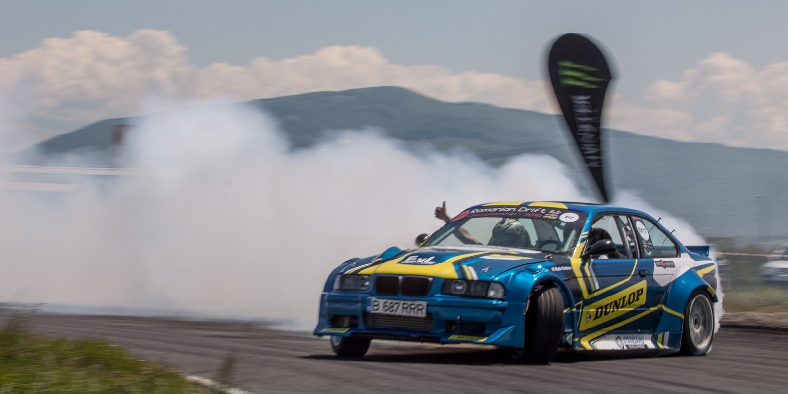 Event shots from the 1st Stage of the Romanian Drift Championship - no local athletes involved - we sponsored the event - branding on site