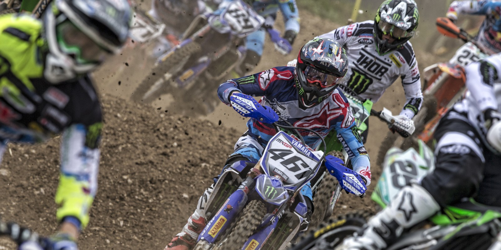 Romain Febvre at the 2016 MXGP of France