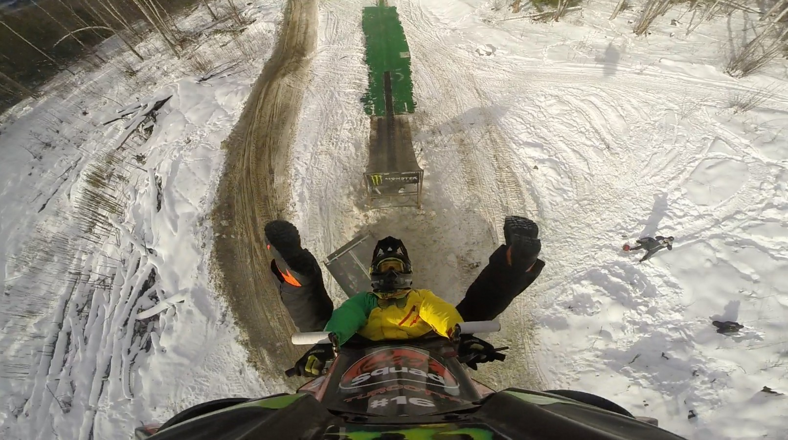 Brett Turcotte Trains for the 2016 X-Games