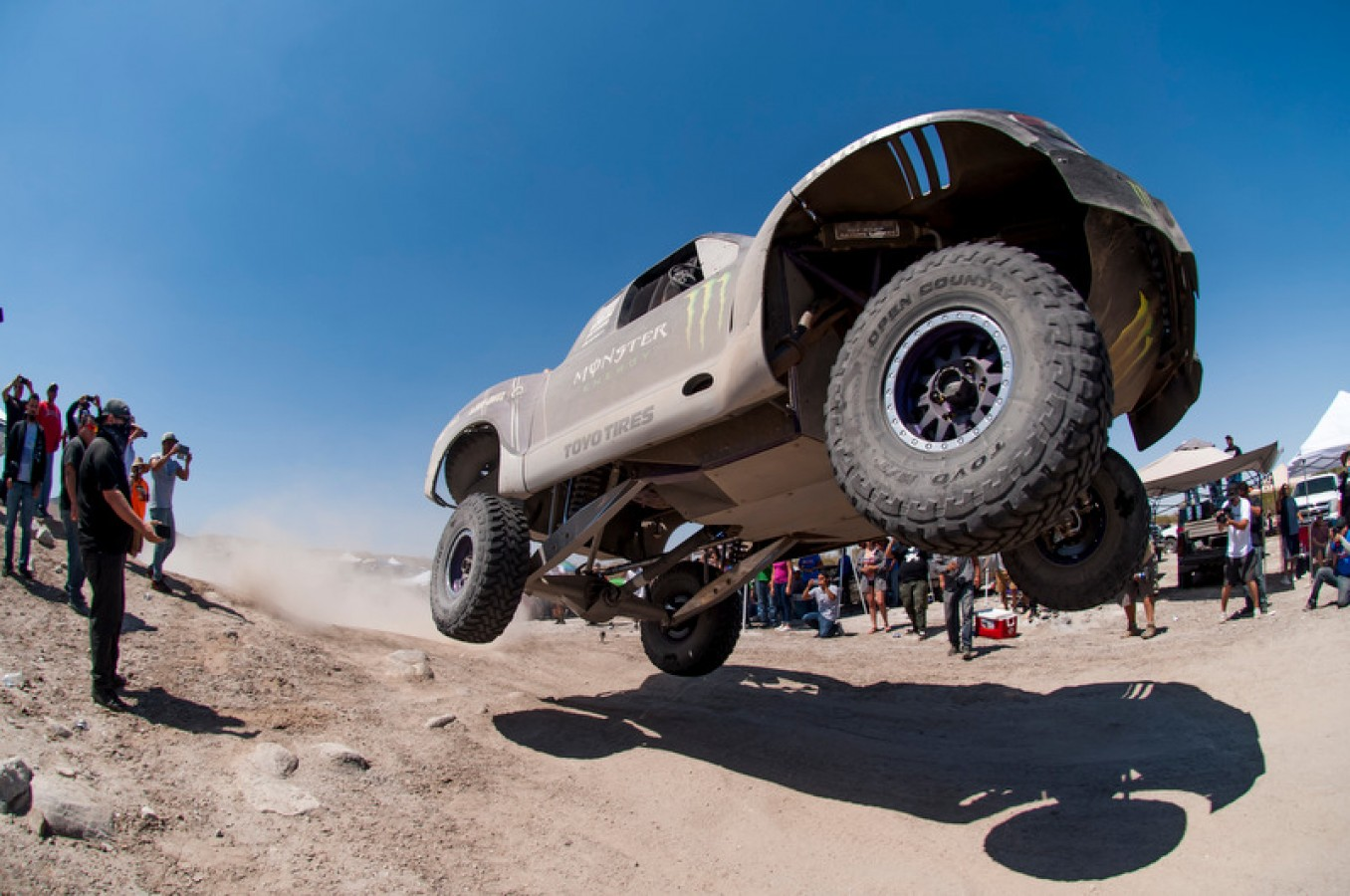 Monster athletes compete in the Baja 500 2016 season in Ensenada, Baja California, Mexico.