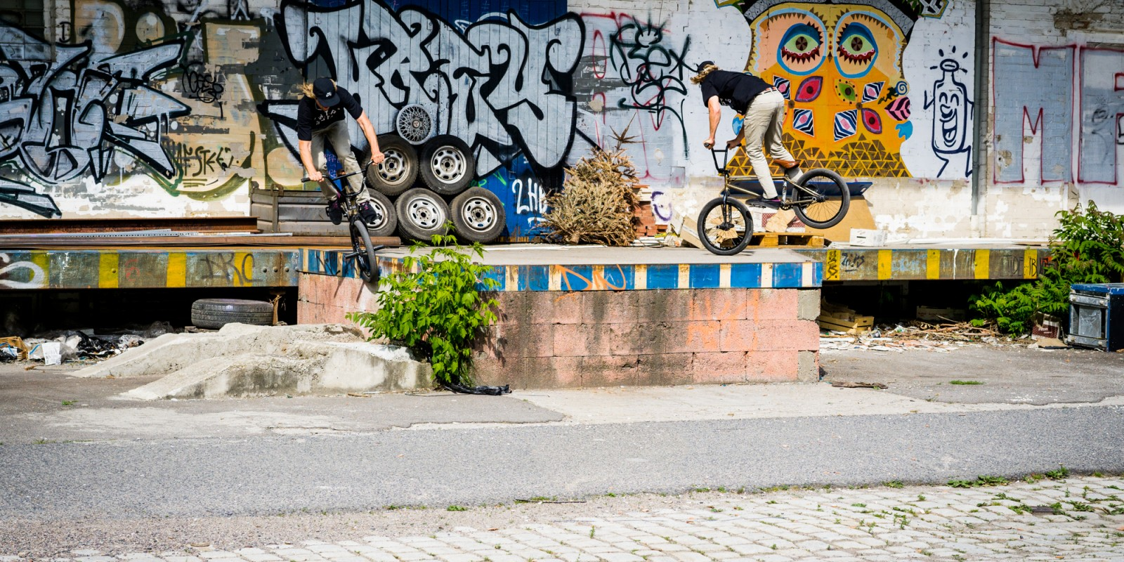"In 2015, the Czech bike bros from TBB-Bike shop united with Monster Energy and started a project called ""Lost In BMX"". The idea was simple – visit an unusual city to the BMX scene, hit the streets and bring the attention to some neglected locations that d"