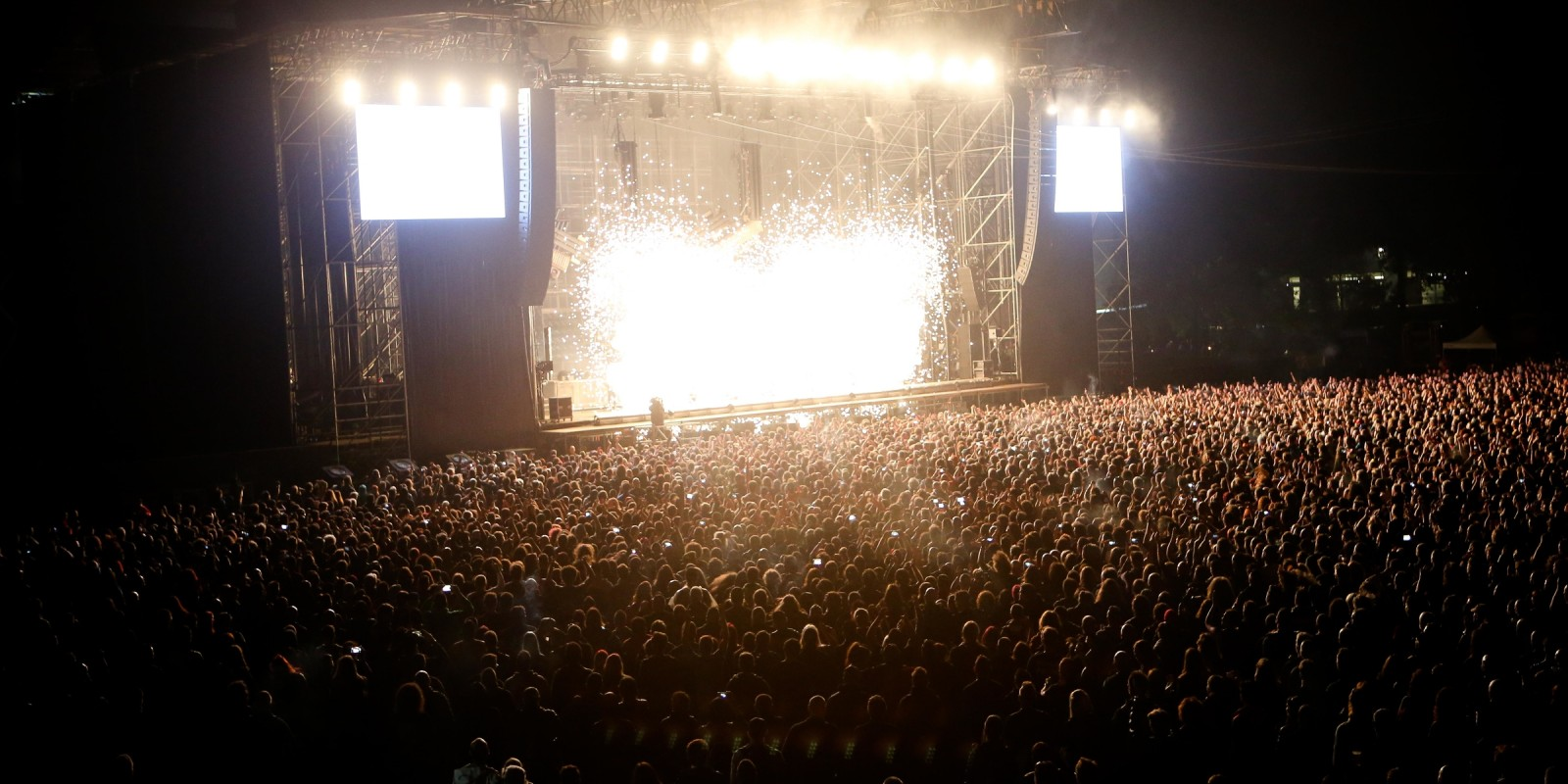 The crowd at Gods of Metal