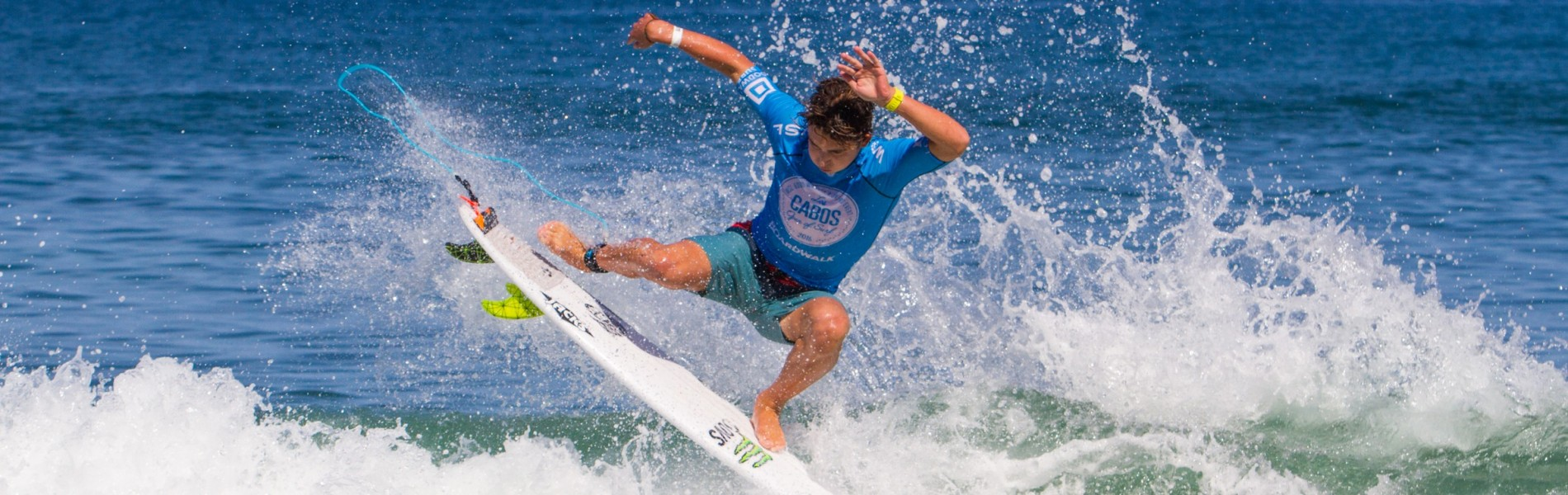 Griffin Colapinto at Los Cabos Open Of Surf 2016