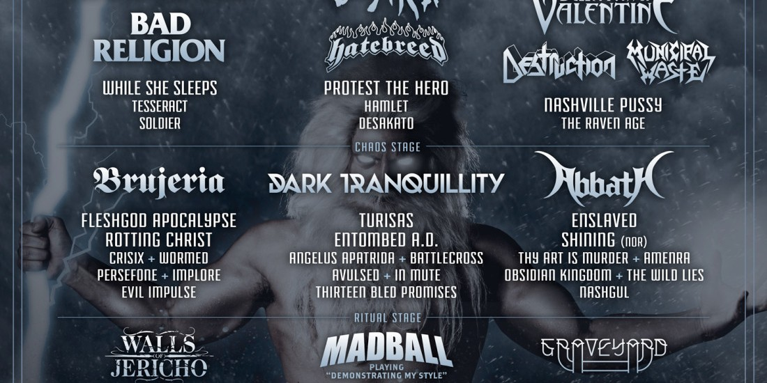 Event art for Resurrection Fest 2016 at Spain.