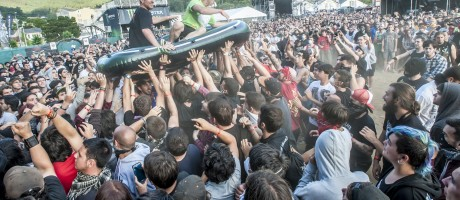 Monster Energy at the 2014 Resurrection Festival in Galicia