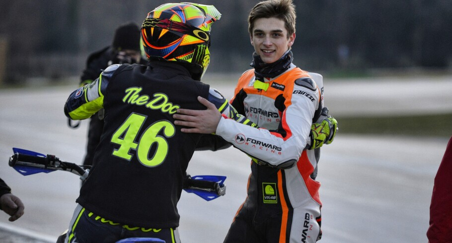 Valentino Rossi Episode 3, racing the ranch imagery.