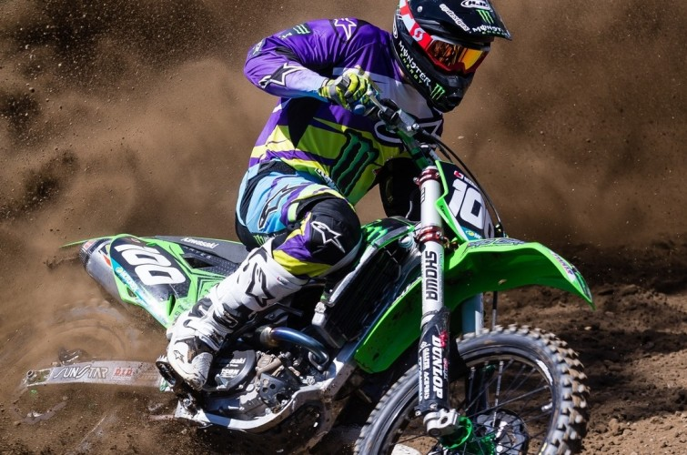 Jacob Hayes Team Monster Energy Alpinestars MX Team photoshoot