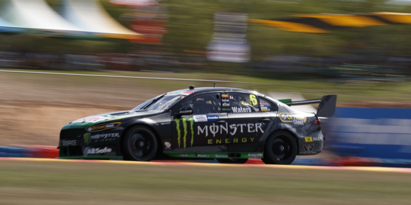 Supercars - Darwin - 2016 Prodrive Racing, Monster Energy Racing, Cameron Waters