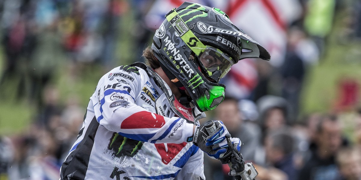 Dylan Ferrandis at the 2016 MXGP of Great Britain