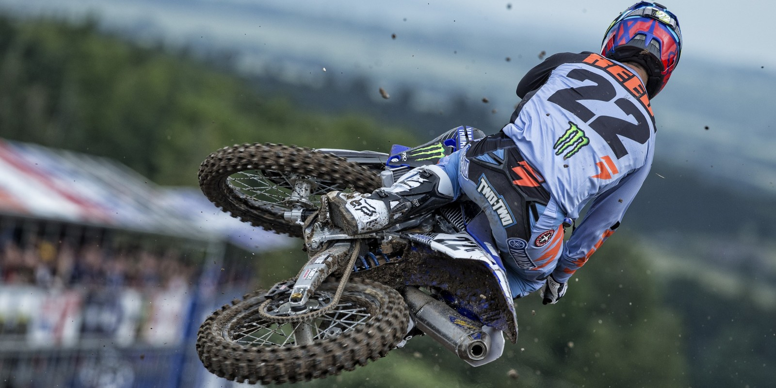 Chad Reed at the 2016 MXGP of Great Britain