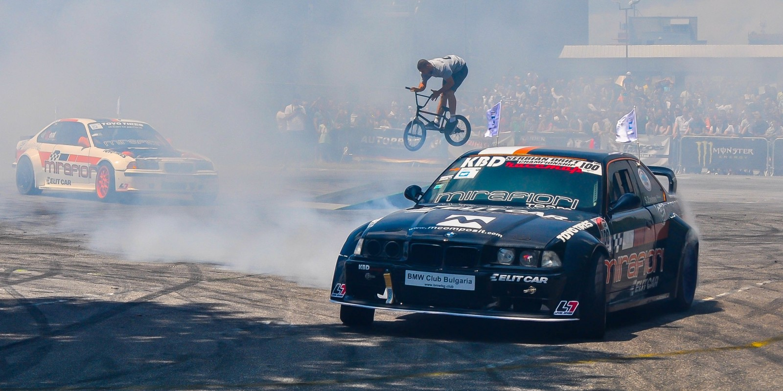 Tuning Show 2016 in Sofia with drift & BMX action