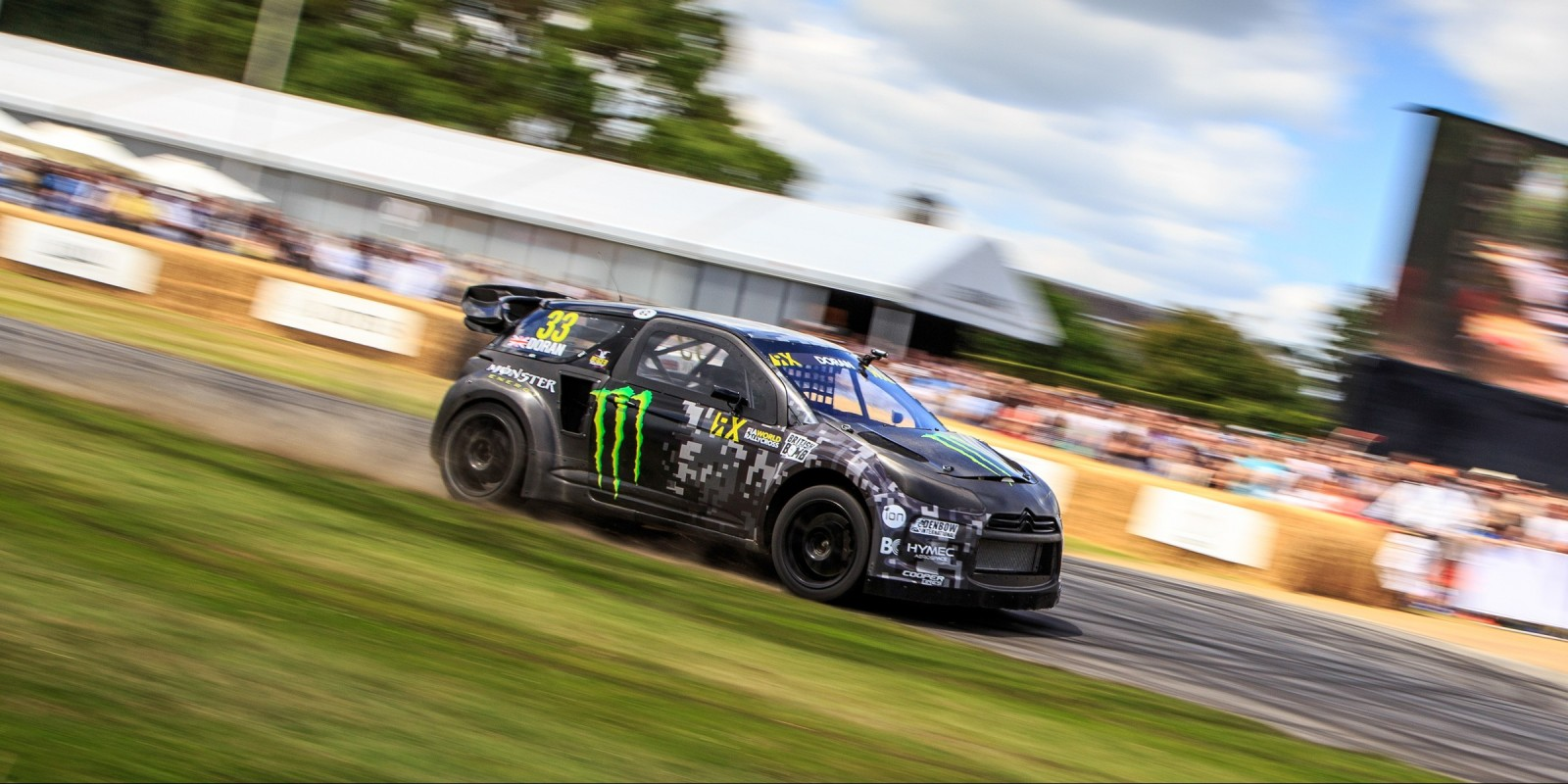 Liam Doran at Goodwood FOS