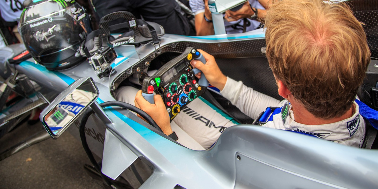 Nico Rosberg at Goodwood FOS