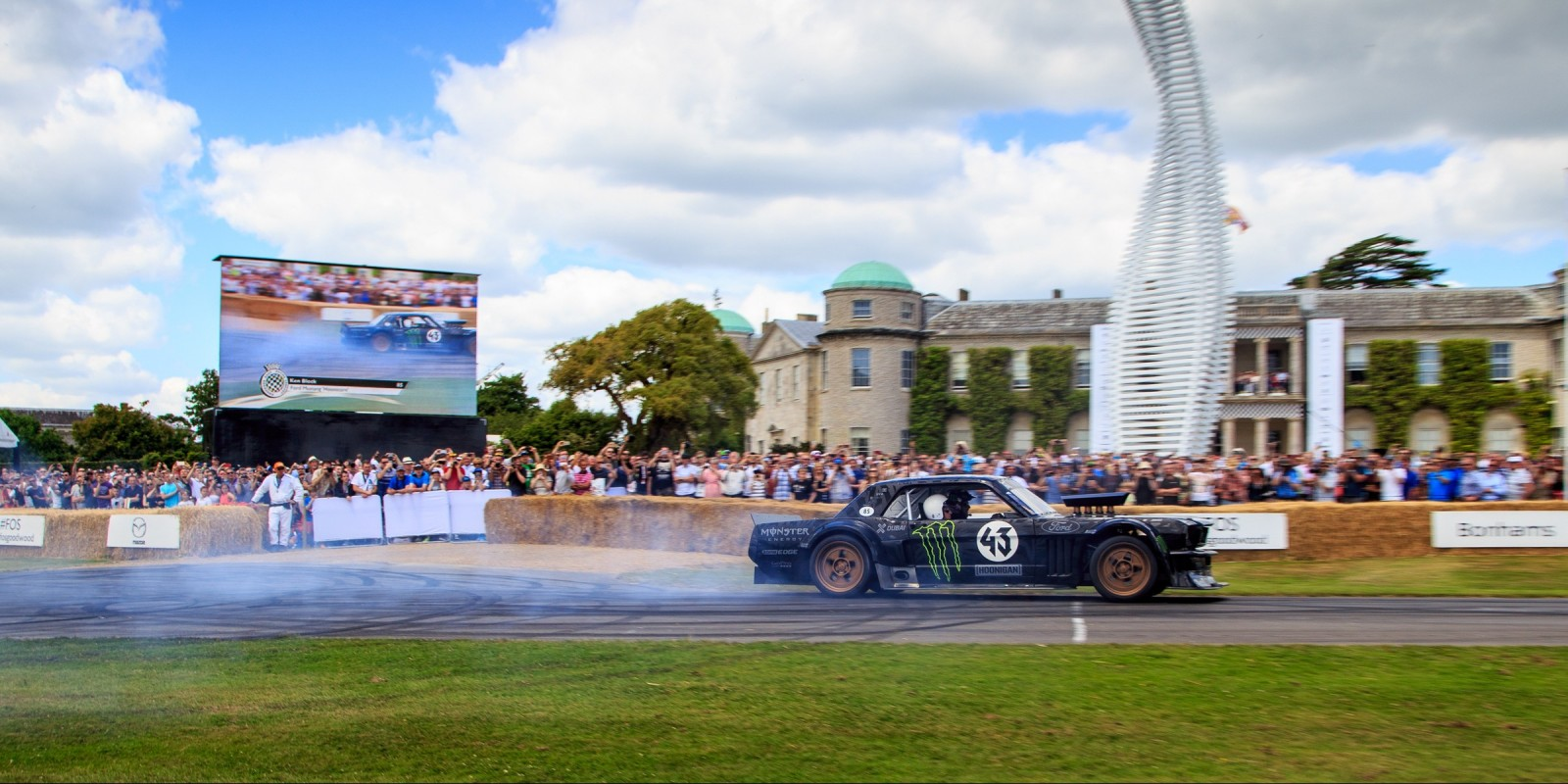 Ken Block at Goodwood FOS