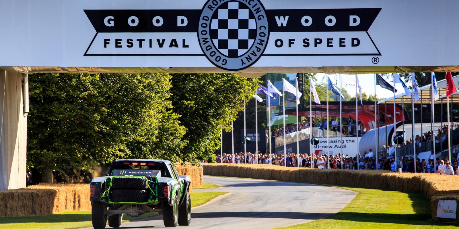 BJ Baldwin at Goodwood Festival of Speed