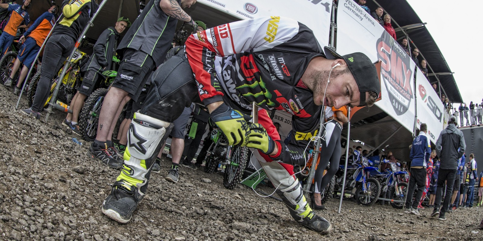 Tommy Searle at the 2016 MXGP of Great Britain