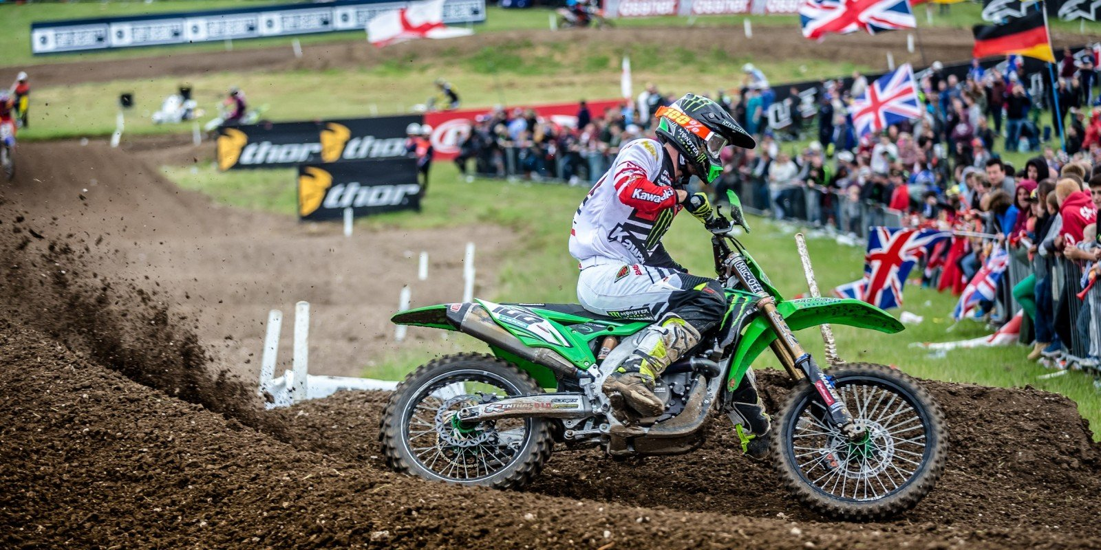 Tommy Searle at the 2016 MXGP in UK