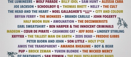 RBC Bluesfest poster for event page on monster energy website.